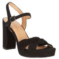 Phase Eight Jennie Leather Platform Sandal, kolor czarny