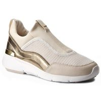 Sneakersy MICHAEL KORS - Ace Sneaker 43F6ACFP2D Opt/Plgold, kolor beżowy