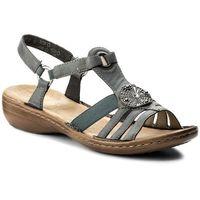 Sandały RIEKER - 60869-14 Blau