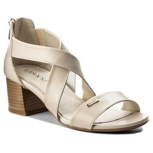 Sandały LASOCKI - 7384-02 Beżowy, w 3 rozmiarach