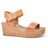 Sandały 40159 bf. brąz marki Lemar