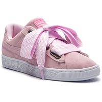 Sneakersy - suede heart street 2 wn's 366780 03 winsome orchid marki Puma