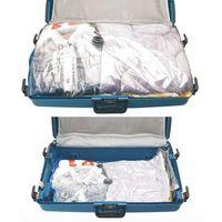 Worki próżniowe na ubrania, pokrowce. 2 rozmiary toreb w komplecie: xxl i l. marki Storagesolutions