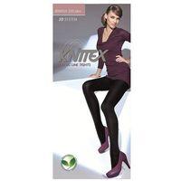 Rajstopy Knittex Irmina 3D 200 den ROZMIAR: 2-S, KOLOR: czarny/nero, Knittex, kolor czarny
