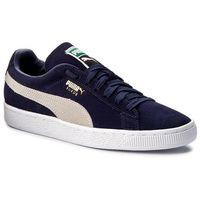 Puma Sneakersy - suede classic + 3565568 51 peacoat/white
