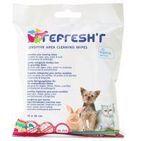 Chusteczki dla zwierząt Savic Refreshr Sensitive - 20 szt. (5411388033668)