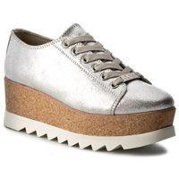 Półbuty - korrie sneaker 91000255-0s0-10001-14010 silver metallic marki Steve madden