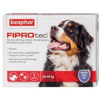 Beaphar Fiprotec xl dla psów od 40 do 60 kg - 402mg - od 40 do 60 kg - 402mg