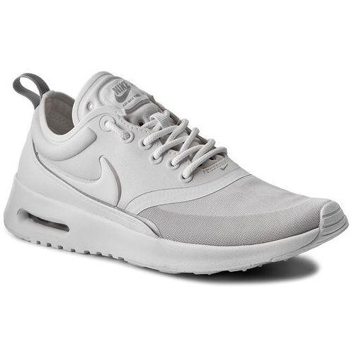 Buty - air max thea ultra 844926 100 white/white/metallic silver, Nike