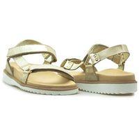 Sandały Nik 07-0293-00-0-56 Złote lico