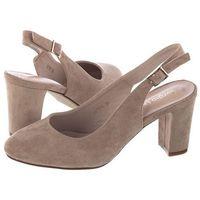 Sandały Sergio Leone Beżowe SK788 (SL272-a)