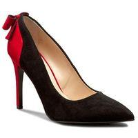 Szpilki SOLO FEMME - 34264-63-020/G13-04-00 Czarny/Czerwony, kolor czarny
