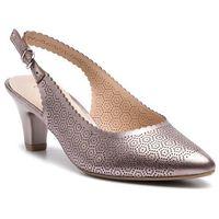 Sandały - 9-29601-22 soft pink met. 596 marki Caprice