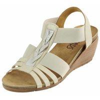 Sandały Lan-Kars D335 - Beżowe, kolor beżowy