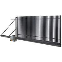 Brama przesuwna automatyczna Polbram Steel Group Daria 2 4 x 1 5 m prawa (5901891479263)