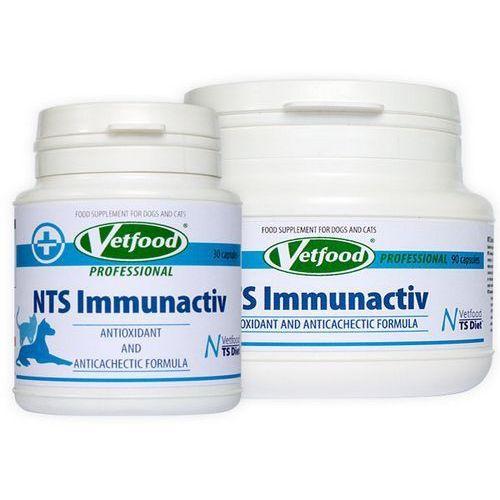 Gdzie kupić nts immunactiv anticancer 30/90kaps. marki Vetfood