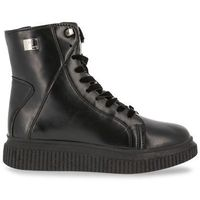 Buty za kostkę botki damskie LAURA BIAGIOTTI 5208CALF-60, kolor czarny