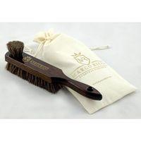 no. 6 - valentino, szczotka dwustronna, drewno bukowe, 100% końskie włosie, kolor wenge marki Marco ricci