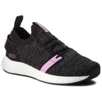Sneakersy - ngry neko engineer knit wns 191094 01 puma black/iron gate/orchid, Puma, 37-38.5