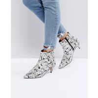 x the emoji movie ankle boots - multi marki Asos