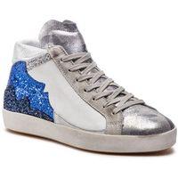 Sneakersy BRONX - 47073-L BX 1486 Cl Blue/White/Slvr 2257, w 3 rozmiarach