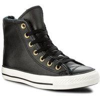 Sneakersy - ctas hi 557925c black/black/egret, Converse, 36-36.5