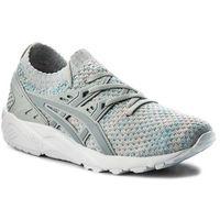 Asics Sneakersy - tiger gel-kayano trainer knit hn7m4 glacier grey/mid grey 9696