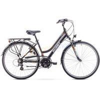 """Rower trekkingowy damski Gazela Limited 28"""" Romet (czarno-pomarańczowy)"""