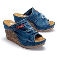 Lanqier 42c264 jeans, klapki damskie