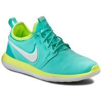 Buty NIKE - Roshe Two (Gs) 844655 300 Hyper Turq/Mtlc Summit Wht/Volt, kolor zielony