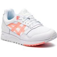 Sneakersy - gelsaga 1192a059 white/sun coral 101, Asics