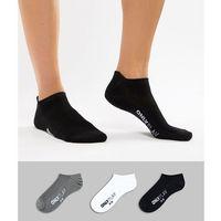 Only Play 3 Pk Breathable Training Socks - Multi