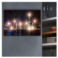 75035 - świecący obraz led dekoracyjny skyline 9xled/0.02w marki Eglo
