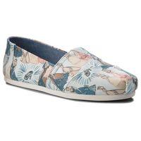 Półbuty TOMS - Classic 10012497 Blue Cinderella 10012497, kolor niebieski