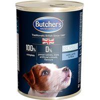 Butcher's blue sensitive z jagnięciną i ryżem - puszka 390g (5011792000395)
