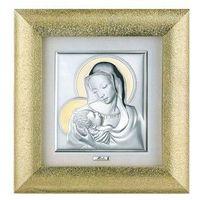 Obraz Matka Boska z Dzieciątkiem w złotej ramie- (M#00026_25), 3896