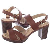 Sandały Caprice Brązowe 9-28321-32 303 Cognac Nappa (CP155-a), kolor brązowy