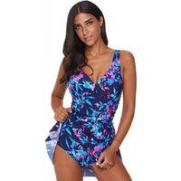 Strój kąpielowy Blue Swimdress L, 1 rozmiar
