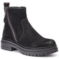 Botki WRANGLER - Courtney Zip WL92663A Black 062