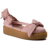 Półbuty PUMA - Bow Creeper Sandal 365794 01 Silver Pink/Pink/Oatmeal