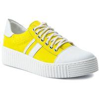 Sneakersy QUAZI - QZ-39-02-000252 686, kolor żółty