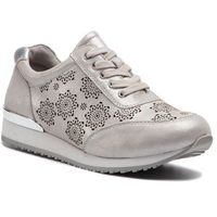 Sneakersy CAPRICE - 9-23602-22 Silver Comb 943, kolor szary