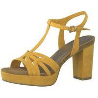 MARCO TOZZI Sandały z rzemykami żółty, w 6 rozmiarach