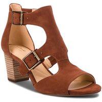 Sandały CLARKS - Deloria Kay 261318664 Mahogany