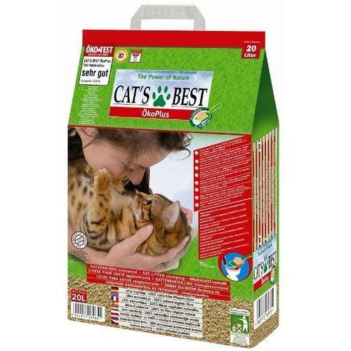 Gdzie kupić eco plus żwirek zbrylający: opakowanie - 2 x 40 l marki Cat's best