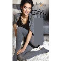 Rajstop Gatta Touch of Silk ROZMIAR: 3-M, KOLOR: grafitowy, Gatta, jedwab