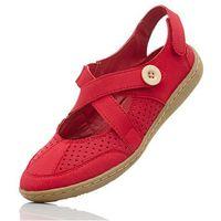 Sandały bonprix czerwony