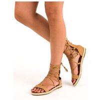Sandały rzymianki z frędzlami vices marki Buty vices