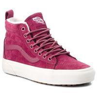 Sneakersy VANS - SK8-Hi Mte VN0A33TXUC41 (Mte) Dry Rose/Marshmallo, kolor różowy