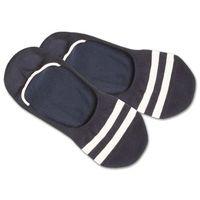 DillySocks Skarpetki stopki niebieski / biały, kolor niebieski